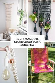 diy macrame decorations for a boho feel cover