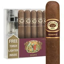 romeo y julieta reserve 5 cigar lighter gift pack cigar sler holt s