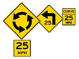 Nc Dmv Road Signs Chart 2019 Road Signs Georgia Drivers Manual 2019 Eregulations