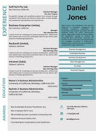 Creative Word Resume Templates Creative Corporate Microsoft Word Resume Template Vista Resume