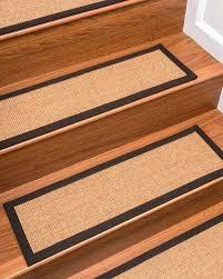 sisal stair treads chandler sisal golden tan fudge border handmade stair treads carpet set of sisal sisal stair treads