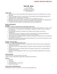 Objective For Cna Resume Extraordinary Resume Sample For Cna Putasgae