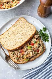 Healthy Tuna Salad Recipe (No Mayo Tuna ...