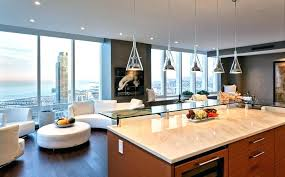 breakfast bar lighting modern design mercury glass pendant light kitchen transitional with airy beach
