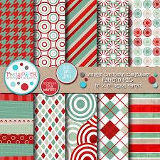 vintage christmas pattern. Exellent Christmas Vintage Christmas Pattern Pack With I