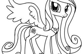 Small Picture my little pony coloring pages princess cadence Just Colorings