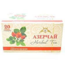 Чай <b>травяной</b> с шиповником Азерчай 20 пакетиков