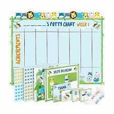 Potty Training Chart For Toddlers Reward Your Child Sticker Chart 4 Week 656857840100 Ebay
