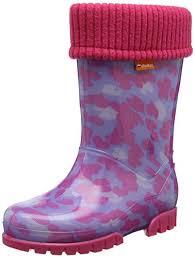 Demar Girls Kids <b>Baby Girl</b> Wellies Wellington Boots Rainy Snow ...