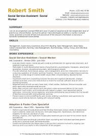Example Of Social Work Resumes Social Worker Resume Samples Qwikresume