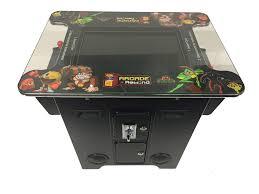 Cocktail Arcade Cabinet Arcade Rewind 60 In 1 Cocktail Arcade Machine For Sale