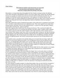 fight club essay questions   gradesaverfight club essay examples   kibin
