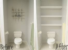 Before And After Remodel Tiny And Narrow Bathroom Spaces Painted