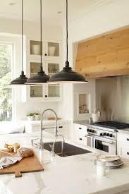 lights above kitchen island rustic lighting ideas
