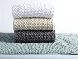 pebbled chenille bath rug cotton rugs with latex backing shower