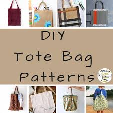 Tote Bag Pattern Delectable What We Loved This Week 48 DIY Tote Bag Patterns Seams And Scissors