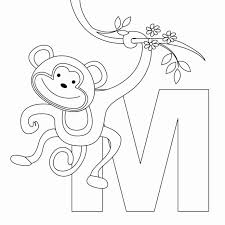 Numbers, alphabet, letters coloring pages. Alphabet Coloring Pdf Monkey K5 Learning K5 Learning Worksheets Math Games For Grade 7 Multiplication Grade 4 Math A And An Worksheets For Grade 2 Math Cheat Calculator Math Assignment Help
