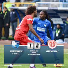 """BB Erzurumspor on Twitter: """" MAÇ SONUCU @Erzurumspor 1 - .@Antalyaspor 0  #erzurumspor #superlig… """""""