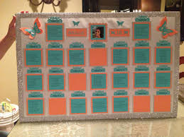 Quinceanera Seating Chart In 2019 Quinceanera Party