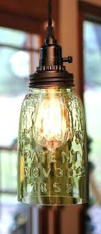 mason jar pendant lighting. Hanging Mason Jar Lamp Pendant Lighting Quart Rustic Light Kitchen Island