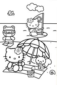 Coloring is a fun way to develop your creativity, your concentration and motor skills while forgetting daily stress. 100 Coloring Pages Hello Kitty For Print Wonder Day