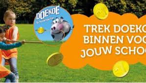 Kickoff Doekoe campagne B.S Mikado met sterkste man van Nederland - Venlo