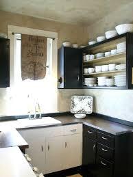 Kitchen, Diy Kitchen Cabinets Build Your Own Kitchen Cabinets Black White  Kitchen U Shape Diy