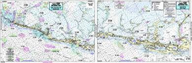 Key Largo Fishing Charts Amazon Com Cross Key To Upper Matecumbe Key Fl