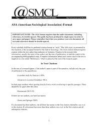 Cómo Descargar Asa American Sociological Association Format Fill
