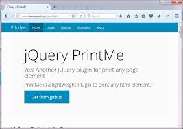 html page print.  Page PrintMe Is A Lightweight JQuery Plugin For Printing Any Html Element It  Only Dependent On Library This Also Allows The User To Add  Throughout Html Page Print G