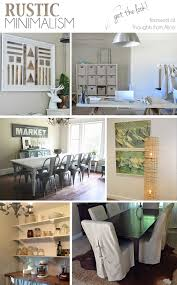 Rustic Minimalism Home Decor Get The Look