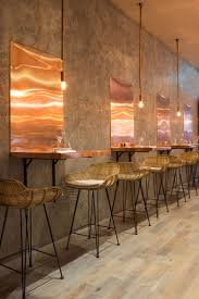 restaurant table top lighting. The Bandol Restaurant Copper Table Closeup Top Lighting
