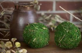 Decorative Moss Balls Moss Ball Set Decorative Moss Balls Green Moss Balls Mossy 67
