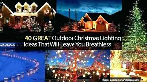 Exterior christmas lighting ideas Decorated Coloured Light Outside Lights Ideas Outdoor Christmas For Trees Light Design Bedroom Outdoor Christmas Lights Ideas Sd Latino Outdoor Christmas Lights Ideas For Trees Holiday Freebieapp