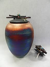 Raku Dream Catcher Jar Delectable Raku Pottery Collection