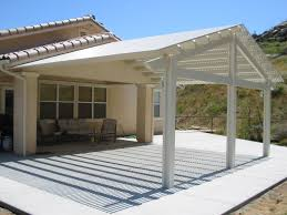 free standing aluminum patio cover. PATIO COVER STYLES \u0026 COLORS | Remodel USA Lattice Gable Free Standing Aluminum Patio Cover O