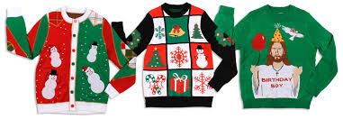 Featured Merchandise Where to Buy | National Ugly Christmas Sweater Day