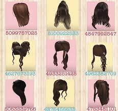 400+ vibe music roblox id codes 2021 80+ tik tok roblox id codes 2021 Brown Hair Code For Roblox Pls Follow Me I Am New Hair Codes Roblox Bloxburg Hair Codes