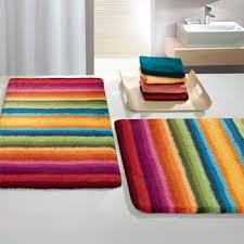 Funky Bath RugsColorful Bathroom Rugs