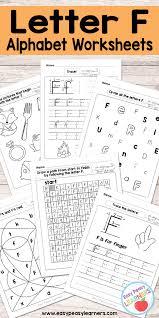 Free Printable Letter F Worksheets Alphabet Worksheets Series