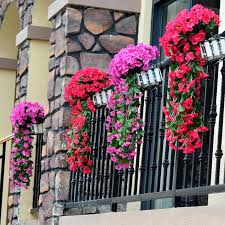 silk flower hanging baskets new violet artificial decoration simulation wall basket orchid vine from flowers outdoor