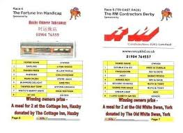 Business Card Titles For Owners Lovely Race Night Example Sheet