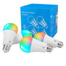 Cox Homelife Compatible Lights Moko Smart Wifi Led Light Bulb 4 Pack E26 9w Dimmable Light Soft White Compatible With Alexa Echo Google Home Ifttt For Voice Control App Remote