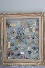 earring frame holder diy beautiful 78 best diy jewelry displays jewelry displays craft show display