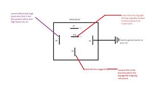wiring diagram for car fog lights images fog light relay wiring diagram to fog light relay wiring
