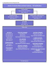 Dva Org Chart Ppt D Organizational Chart Of Proposed Team Powerpoint