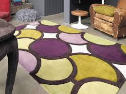 back to the colourful of purple carpet runner
