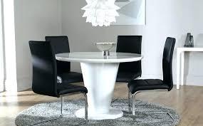 full size of high gloss white dining table sets round and 4 chairs extending the range