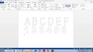 This wikihow teaches you how to add a dotted or dashed line anywhere on a microsoft word document. How To Make Dashed Letters And Number Tracing In Microsoft Word 2013 By Using Wordart Youtube