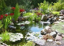 Garden Ponds Designs Interesting 48 Pond Waterfall Designs And Ideas